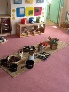 Heuristic play for babies