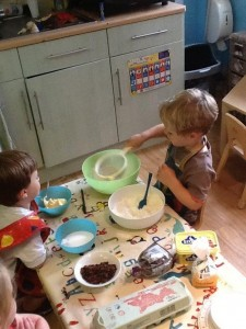 Bake-off toddler style